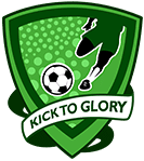 Kick To Glory Football Talent Hunt. Logo