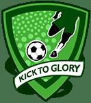Kick To Glory Football Talent Hunt. Logo