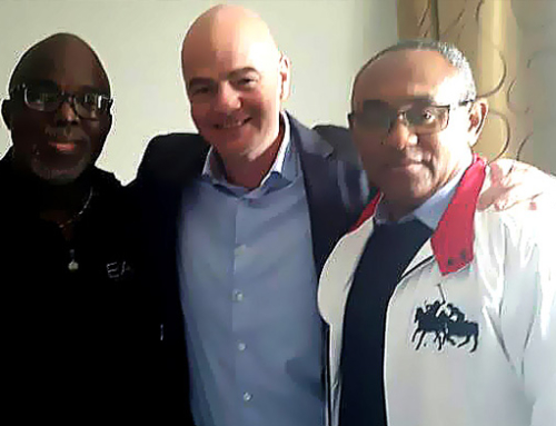 In Line With International Football Authorities NFF, CAF, FIFA